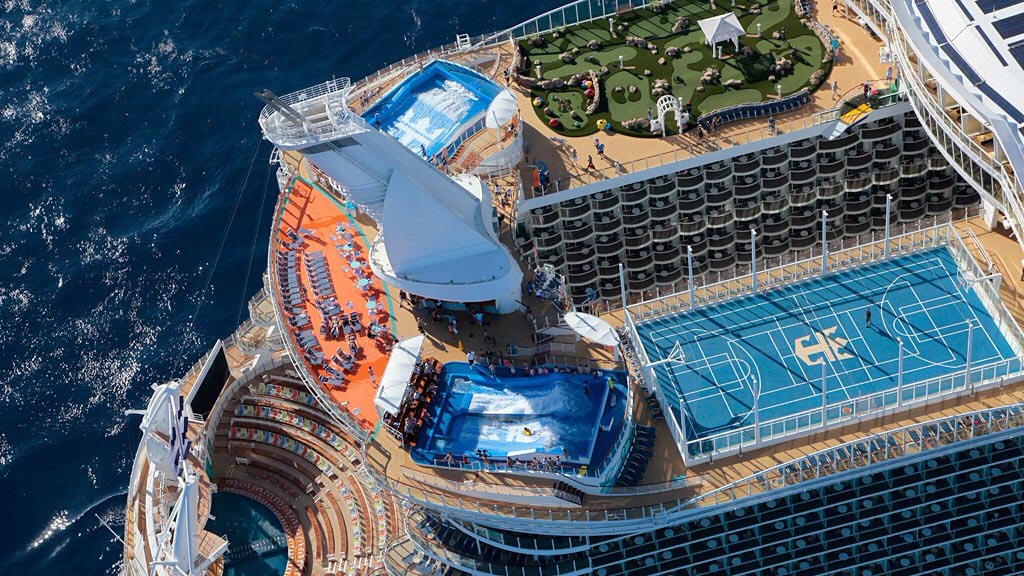 Allure of The Seas, Caribe